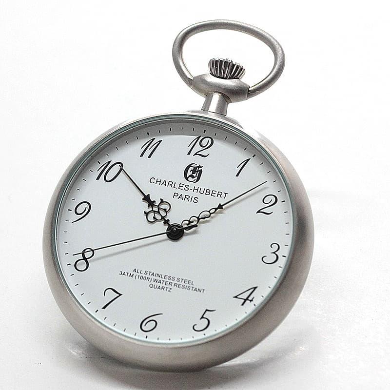 チャールズヒューバート(Charles-Hubert) 懐中時計 クォーツ式 3534