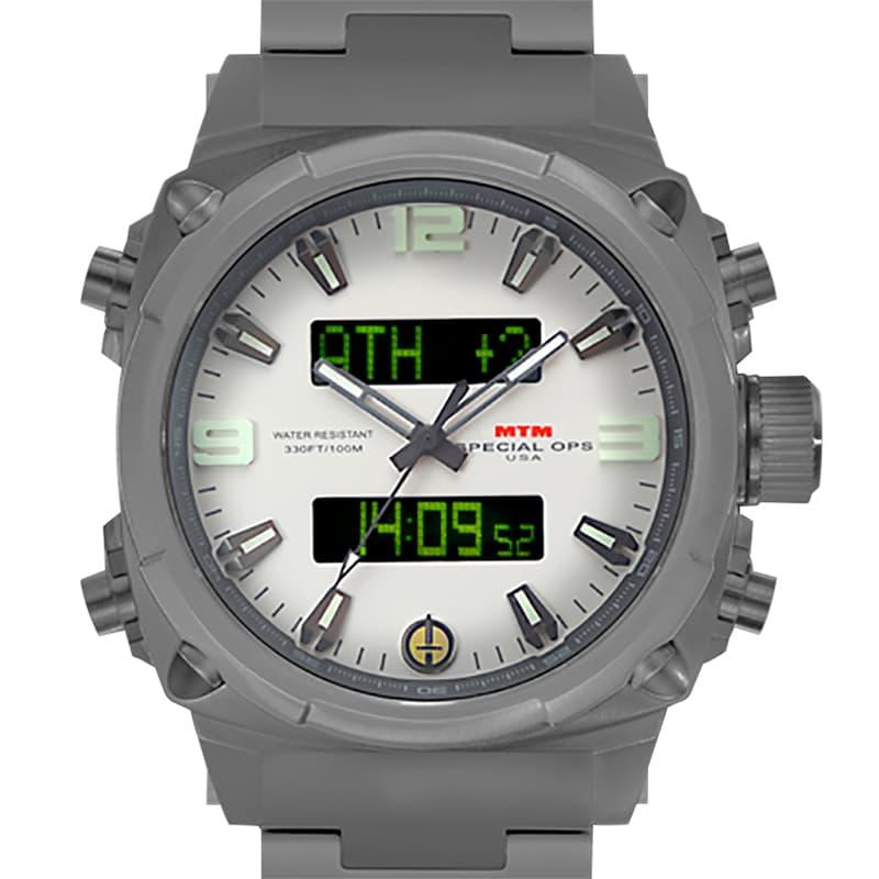 MTMスペシャルオプス/エアストライク II(AIR STRYK II)/AS2-TGR-WHLM-MBTI/デジタル機能付き/腕時計
