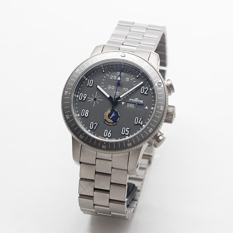 FORTIS フォルティス ブランド 腕時計 オフィシャル・コスモノート アマディ20 自動巻き腕時計 クロノグラフ f2040007
