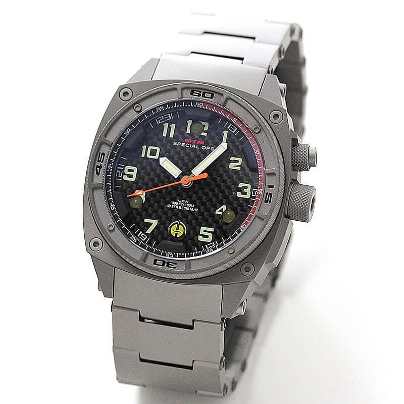 MTM スペシャルOPS ファルコン グレイ FAL-TGR-BKCB-MBTI チタニウム腕時計