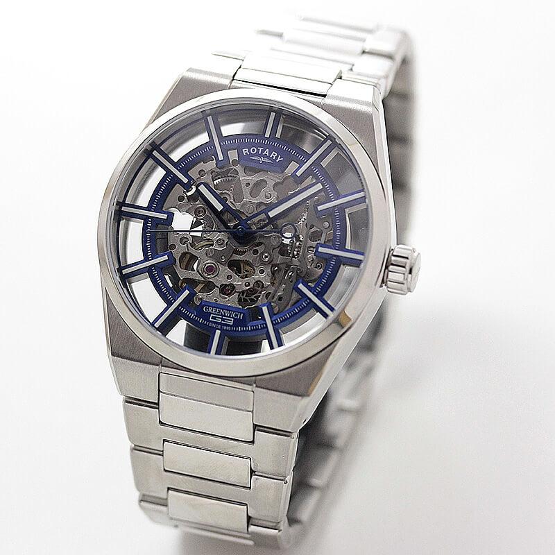 ROTARY(ロータリー) GREENWICH(グリニッジ) GB05210/05 自動巻き 腕時計