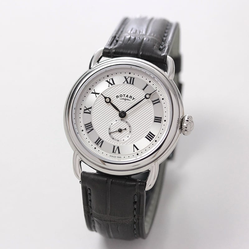 ROTARY(ロータリー) CANTERBURY SavileRow(カンタベリー サビル・ロウ) GB05335/21SRG グレー 日本限定 メッシュベルト付 クォーツ 腕時計