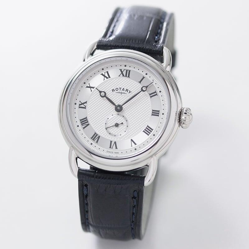 ROTARY(ロータリー) CANTERBURY SavileRow(カンタベリー サビル・ロウ) GB05335/21SRN ネイビー 日本限定 メッシュベルト付 クォーツ 腕時計