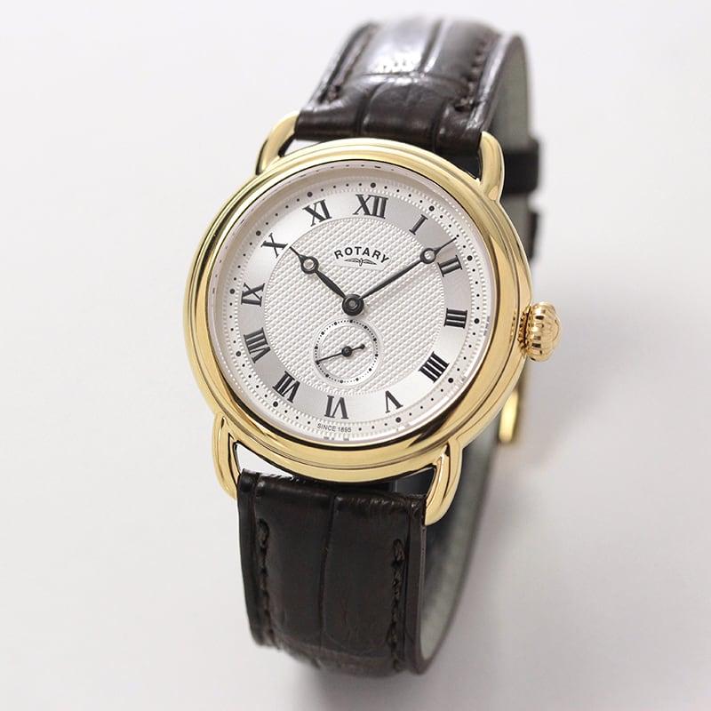ROTARY(ロータリー) CANTERBURY SavileRow(カンタベリー サビル・ロウ) GB05338/21SRB ブラウン 日本限定 メッシュベルト付 クォーツ 腕時計