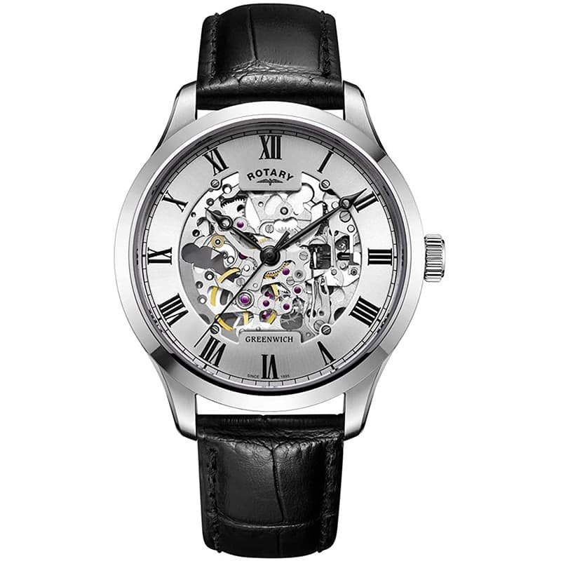 ROTARY(ロータリー) Greenwich(グリニッジ) GS02940/06 自動巻き腕時計
