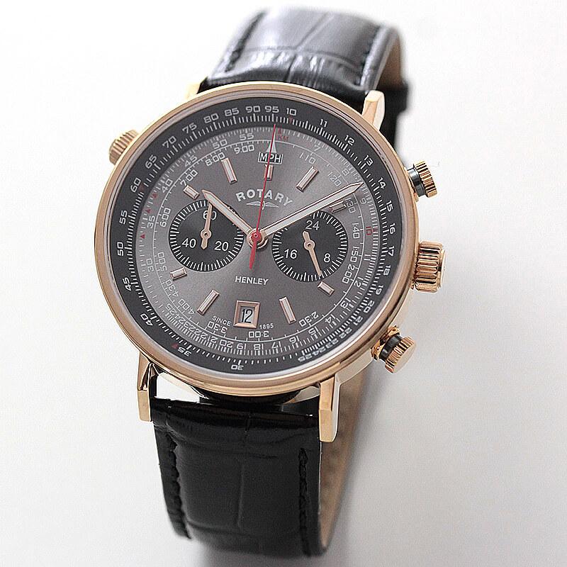 ROTARY(ロータリー) HENLY(ヘンリー) GS05237/20 クロノグラフ 腕時計