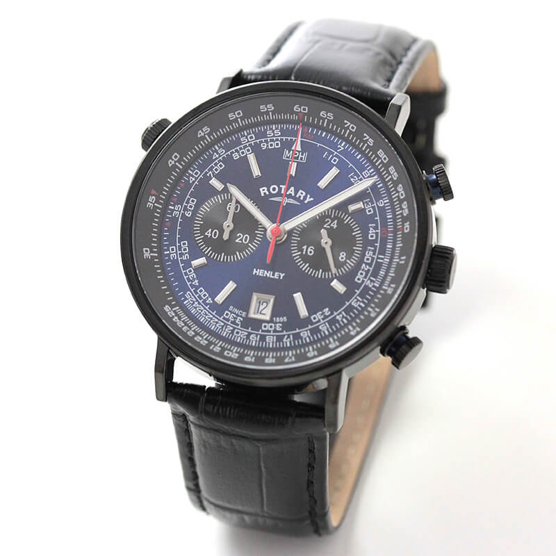 ROTARY(ロータリー) HENLY(ヘンリー) GS05238/05 クロノグラフ 腕時計