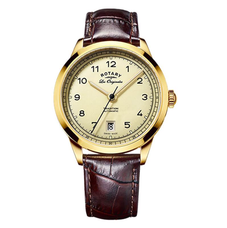 ROTARY(ロータリー) TRADITION (トラディション) GS90185/03 自動巻き 腕時計