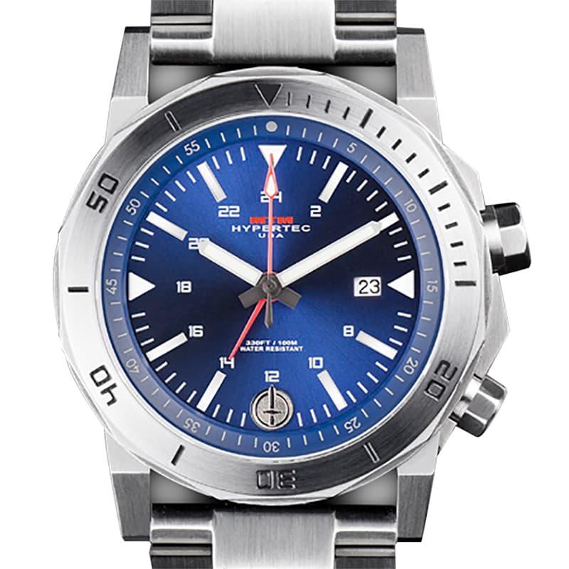 MTM ADVENTURE SERIES H-61シルバー・ブルー H61-SSL-BLUE-MBSS H-61 腕時計