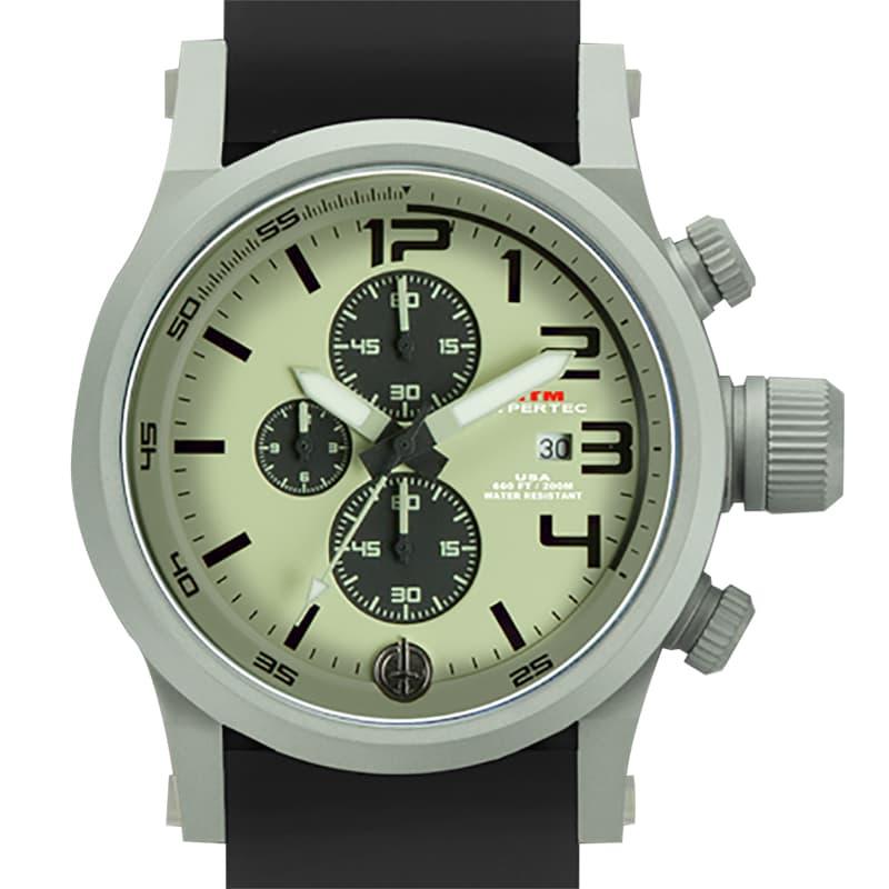 MTMスペシャルオプス ハイパーテッククロノ3 HC3-SG4-LUMI-BR2S-A/クロノグラフ/腕時計