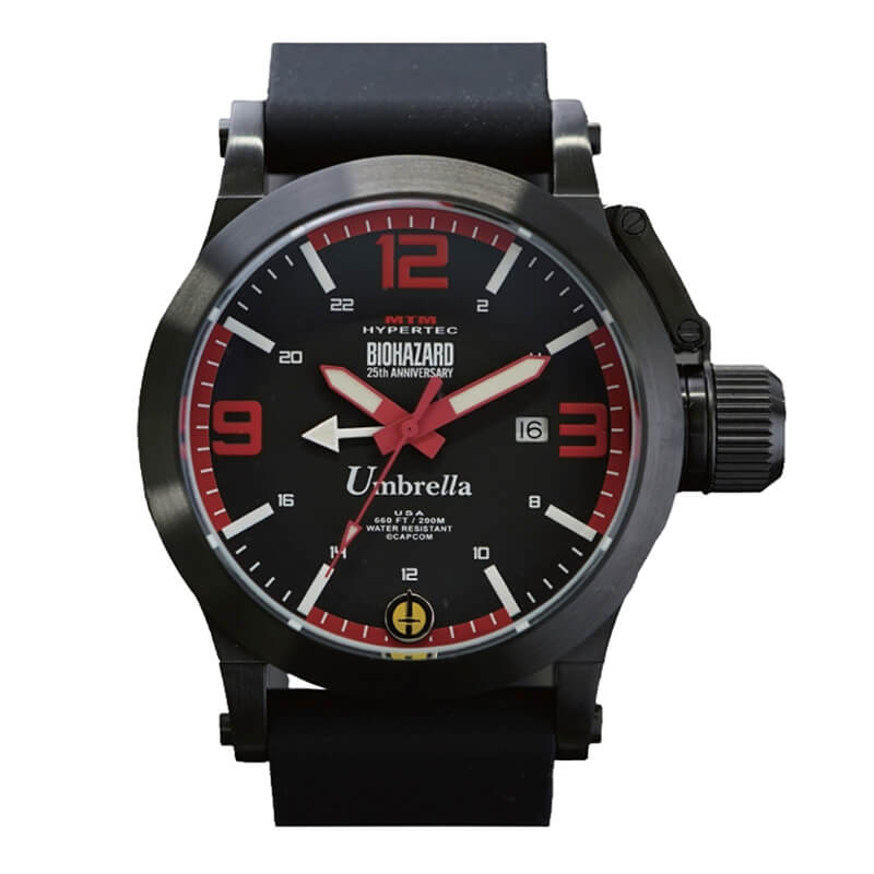 MTMスペシャルオプス MTM Watch×バイオハザード 25 周年 コラボレーションウォッチ アンブレラモデル Red 腕時計