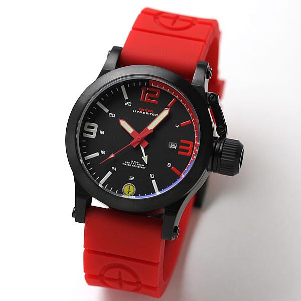 MTMスペシャルオプス ハイパーテック HYP-SB4-RED1-RR2B-A レッド 腕時計