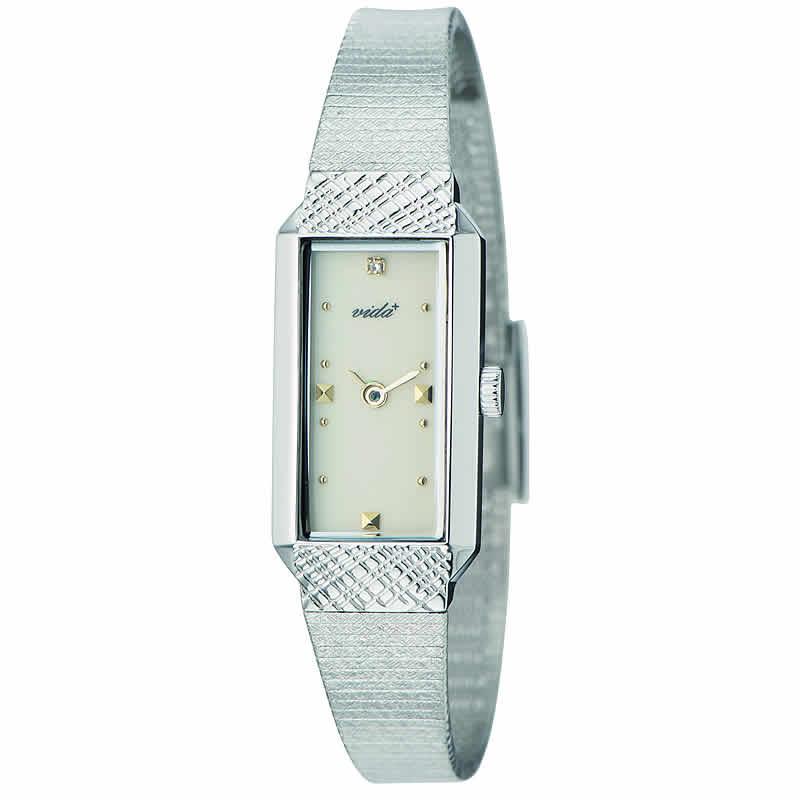 VIDA+レクタンギュラー女性用 レディース J83901 SV IV 腕時計