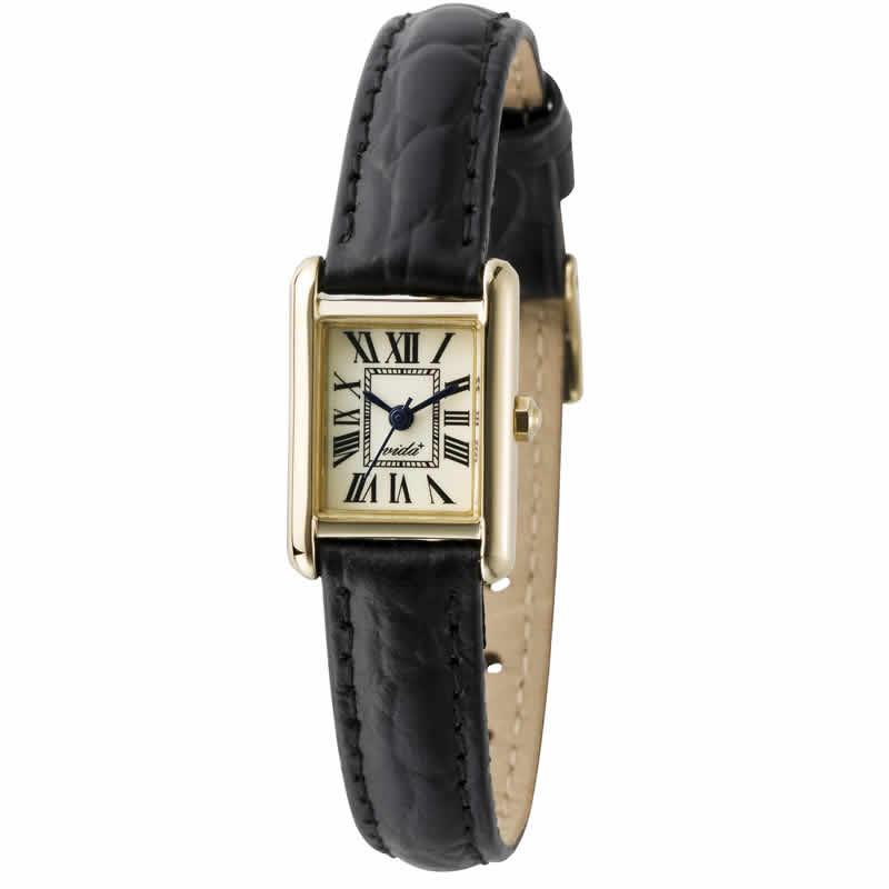 VIDA(ヴィーダ)+Miniレクタンギュラー レディース 女性用 J83904 LE-BK 腕時計
