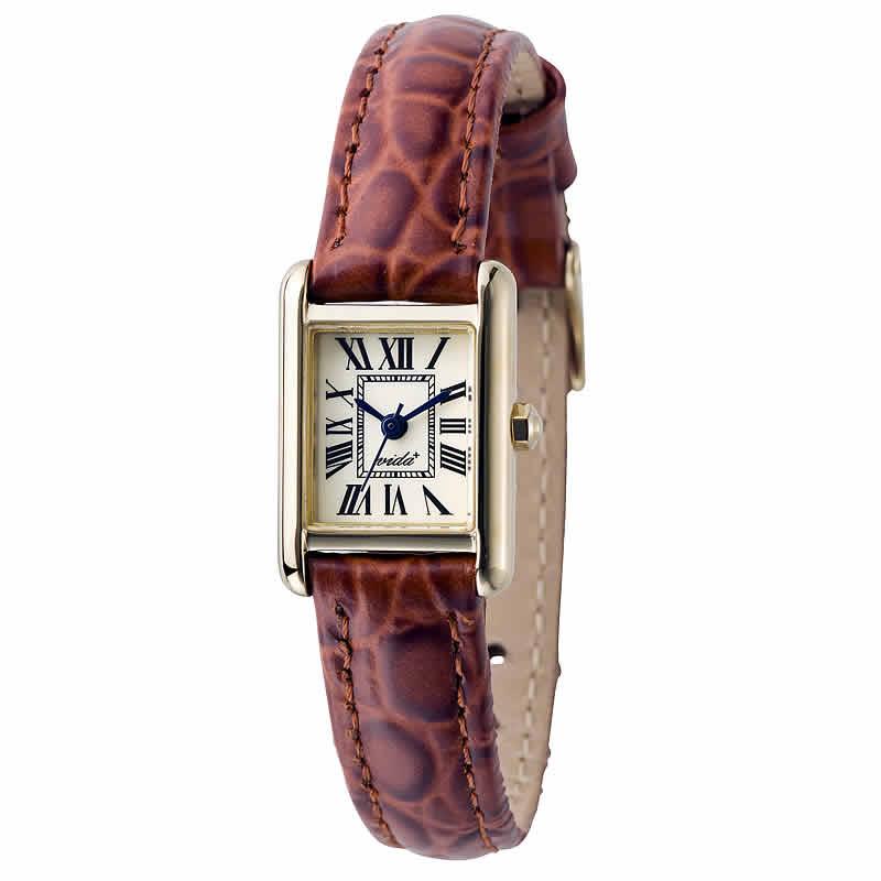 VIDA(ヴィーダ)+Miniレクタンギュラー レディース 女性用 J83905 LE-BR 腕時計