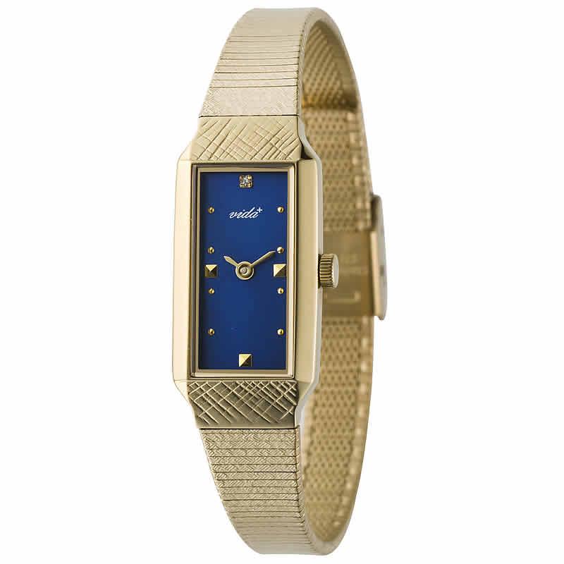 VIDA+レクタンギュラー女性用 レディース 83913 NV 腕時計