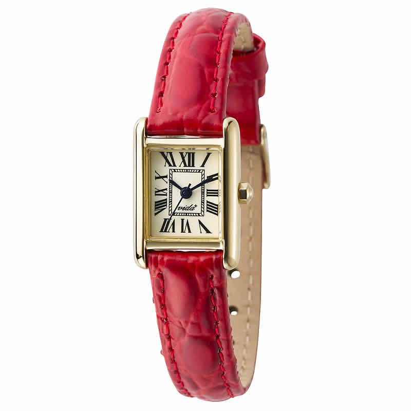 VIDA(ヴィーダ)+Miniレクタンギュラー レディース 女性用 J83915 LE-RD 腕時計