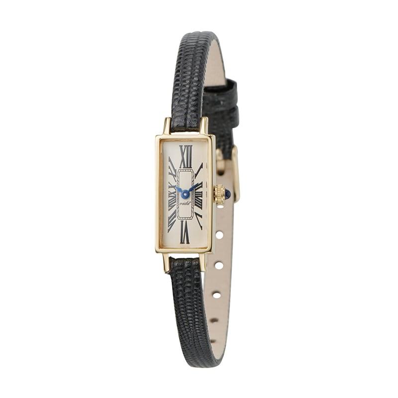 VIDA+ Mignon(ミニョン) J83921 LE-BK ブラック レディース 腕時計