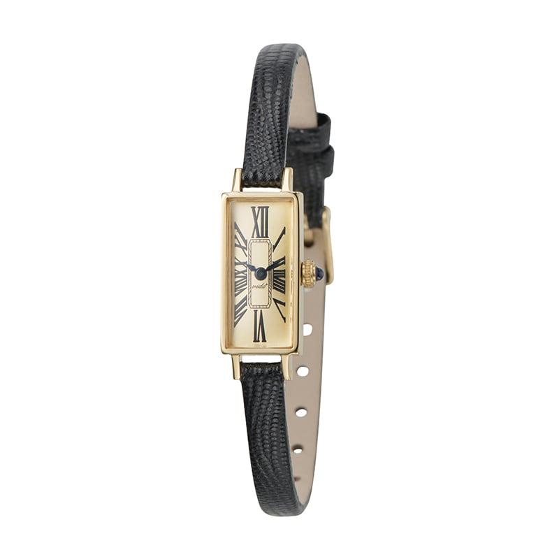VIDA+ Mignon(ミニョン) J83927G LE-BK ブラック レディース 腕時計