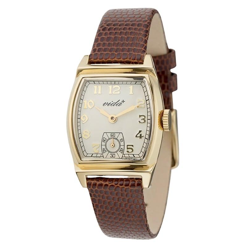 VIDA+ Inherit(インヘリット)J84964G LE-BR ブラウン レディース 腕時計