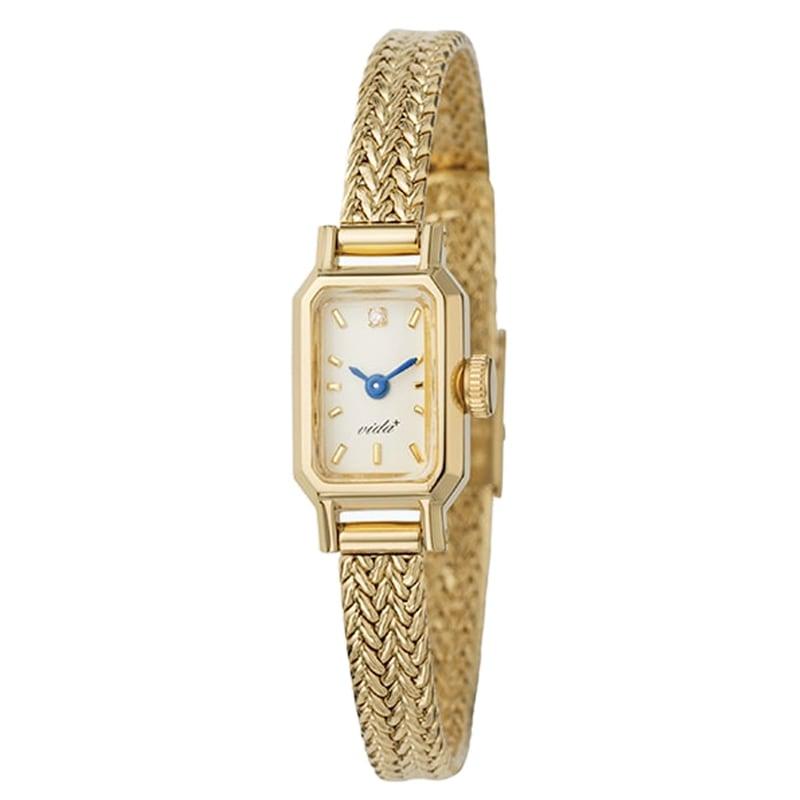 VIDA+ Casket(キャスケット)J84966GM ゴールド レディース 腕時計