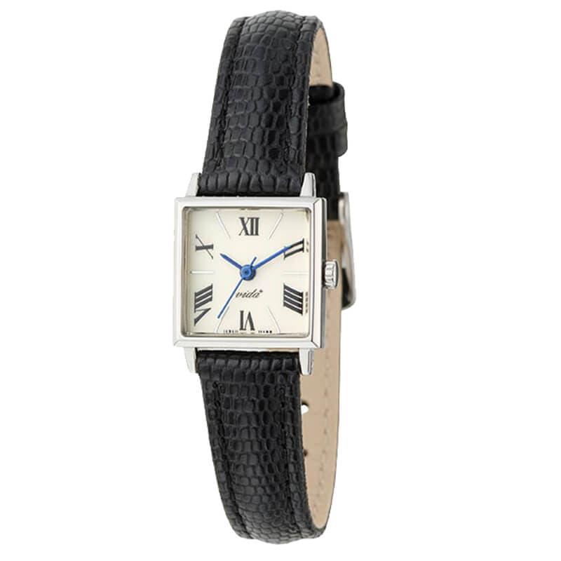 VIDA+ Orderly ブラックベルトカラー レディース J84968S LE-BK 腕時計