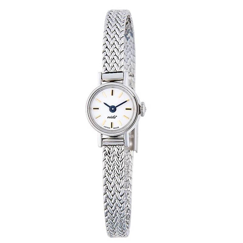 VIDA+ ヴィーダプラス Slant J84972S 腕時計 シルバーカラー