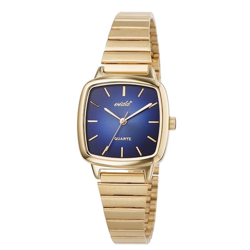 VIDA+ Radial(ラディアル)J86011 GLD NVY ゴールド-ネイビー レディース 腕時計