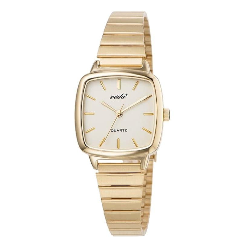 VIDA+ Radial(ラディアル)J86012 GLD IVY ゴールド-アイボリー レディース 腕時計