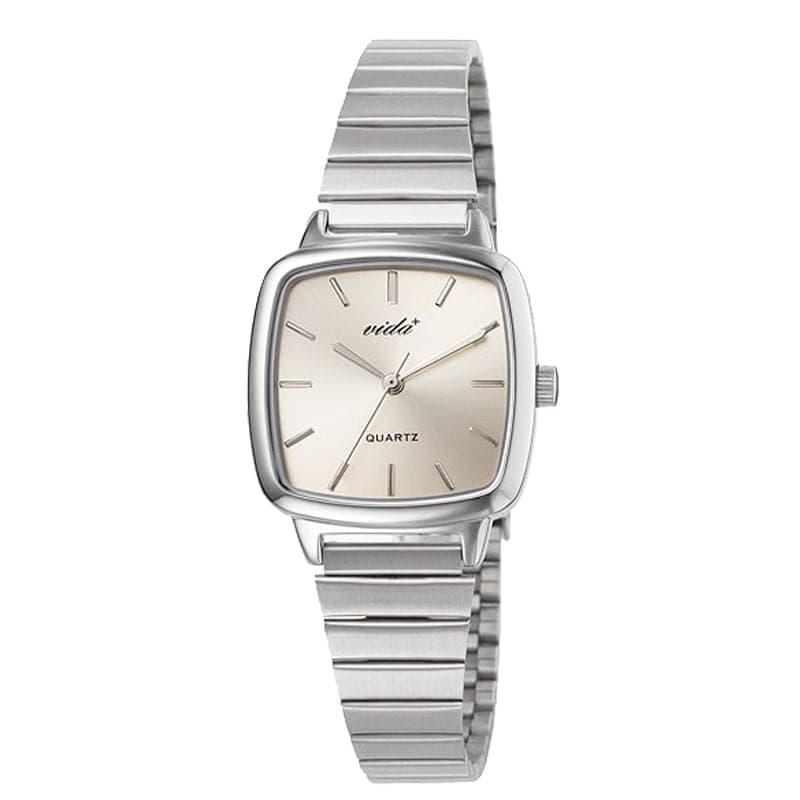 VIDA+ Radial(ラディアル)J86013 SLV GLD シルバー-ゴールド レディース 腕時計