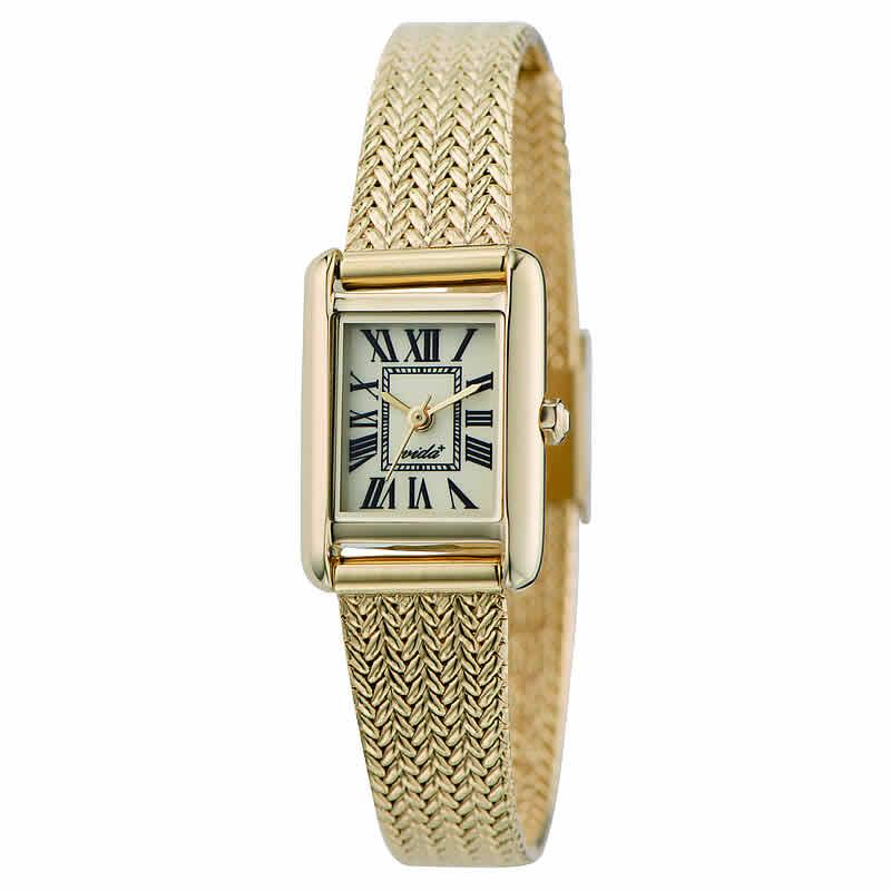 VIDA(ヴィーダ)+Miniレクタンギュラー レディース 女性用 JM83930 GD 腕時計