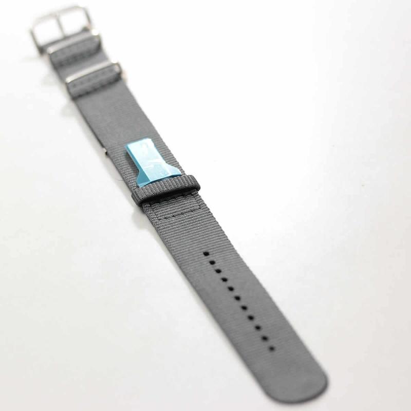 klokers(クロッカーズ)腕時計用Textile strap KLINK-03 グレー