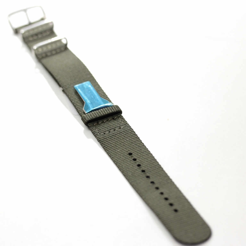 klokers(クロッカーズ)腕時計用Textile strap KLINK-03 ヴェール・アマンド