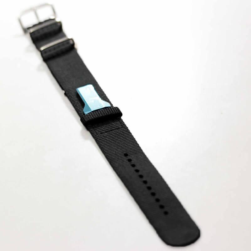 klokers(クロッカーズ)腕時計用Textile strap KLINK-03 ブラック