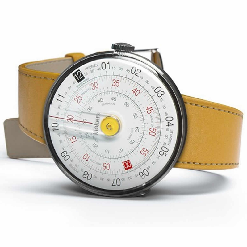 klokers(クロッカーズ)KLOK-01-D1 腕時計とklokers(クロッカーズ)腕時計用ベルト ニューポートイエローMC7セット