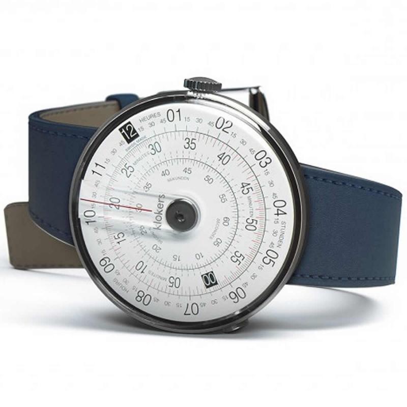 klokers(クロッカーズ) KLOK-01-D2 腕時計とklokers(クロッカーズ) 腕時計用ベルト インディゴブルーMC3セット