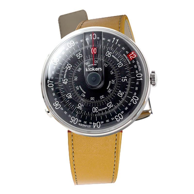【100個限定】klokers(クロッカーズ) KLOK01D8と専用ベルト ニューポートイエロー MC7のセット 腕時計