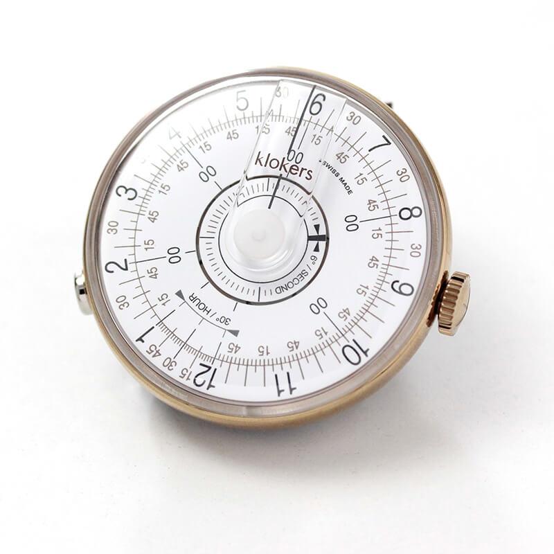 klokers(クロッカーズ) KLOK08D1 本体単品 時計 ホワイト
