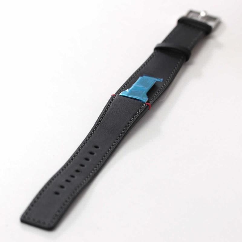 klokers(クロッカーズ)腕時計用ベルト マットブラック MC2