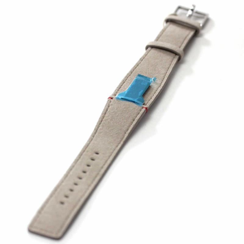 klokers(クロッカーズ)腕時計用ベルト アルカンターラグレイ MC6