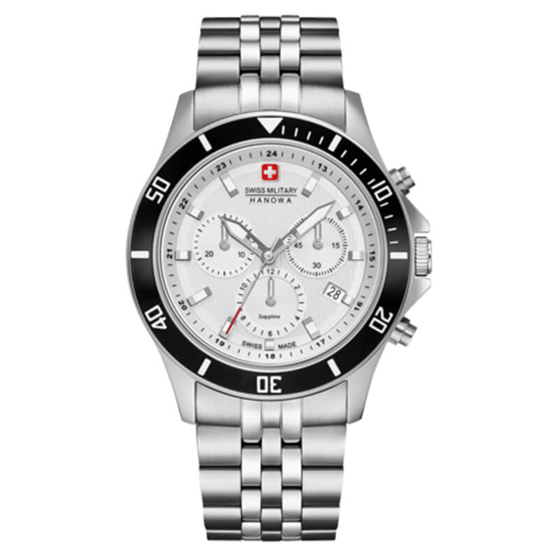 SWISS MILITARY FLAGSHIP CHRONO II(スイスミリタリー フラッグシップ クロノII) ML-474 メンズウォッチ 腕時計