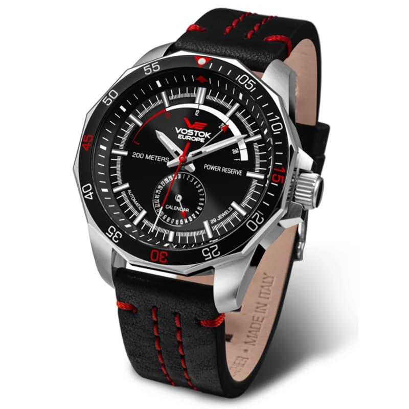VOSTOK EUROPE(ボストーク ヨーロッパ)N1 Rocket パワーリザーブ NE57-225A563 ブラック 腕時計
