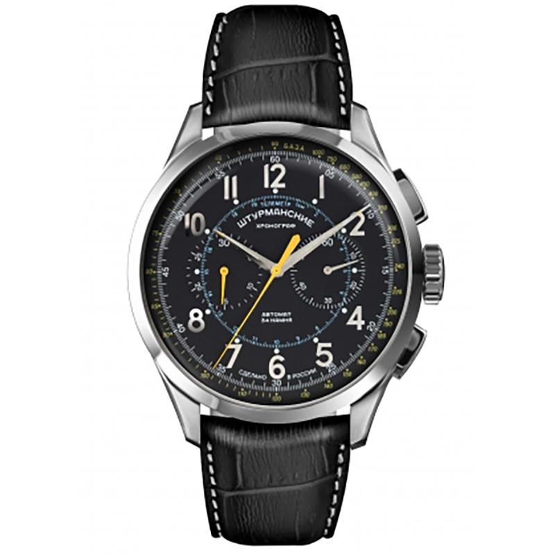 STURMANSKIE/シュトゥルマンスキー/STRELA(ストレラ)/限定500本/自動巻き/NE86-1855015 ブラック 腕時計