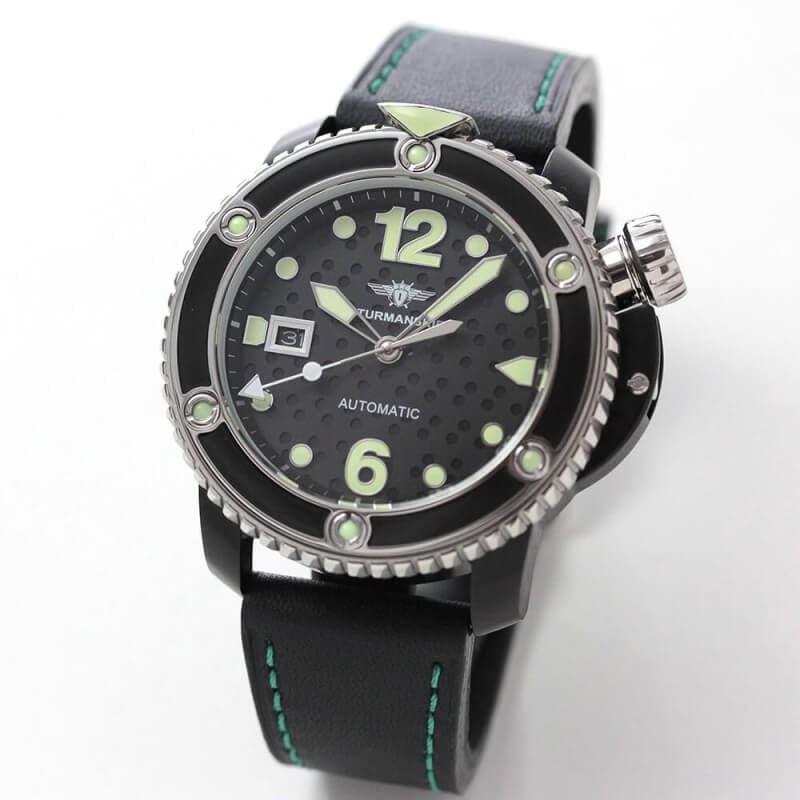 STRUMANSKIE(シュトルマンスキー) OCEAN STINGRAY(オーシャン スティングレイ) NH35/1824893 ブラックPVD 腕時計