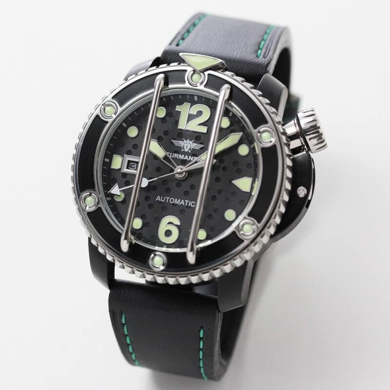 STRUMANSKIE(シュトルマンスキー) OCEAN STINGRAY(オーシャン スティングレイ) NH35/1824895 ブラックPVD 腕時計