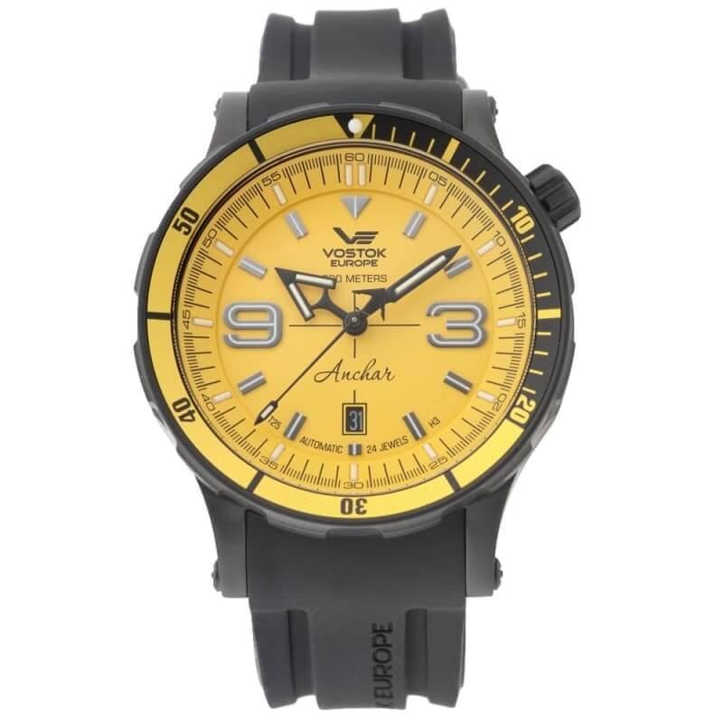 VOSTOK EUROPE(ボストーク ヨーロッパ) アンチャール Submarine 手巻付自動巻き 世界限定3000本 NH35A-510C530 腕時計