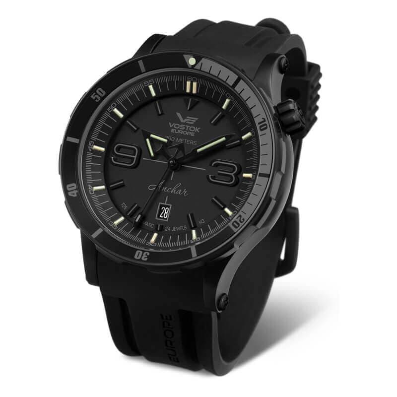 VOSTOK EUROPE(ボストーク ヨーロッパ) アンチャール Submarine 手巻付自動巻き 世界限定3000本 NH35A-510C553 腕時計
