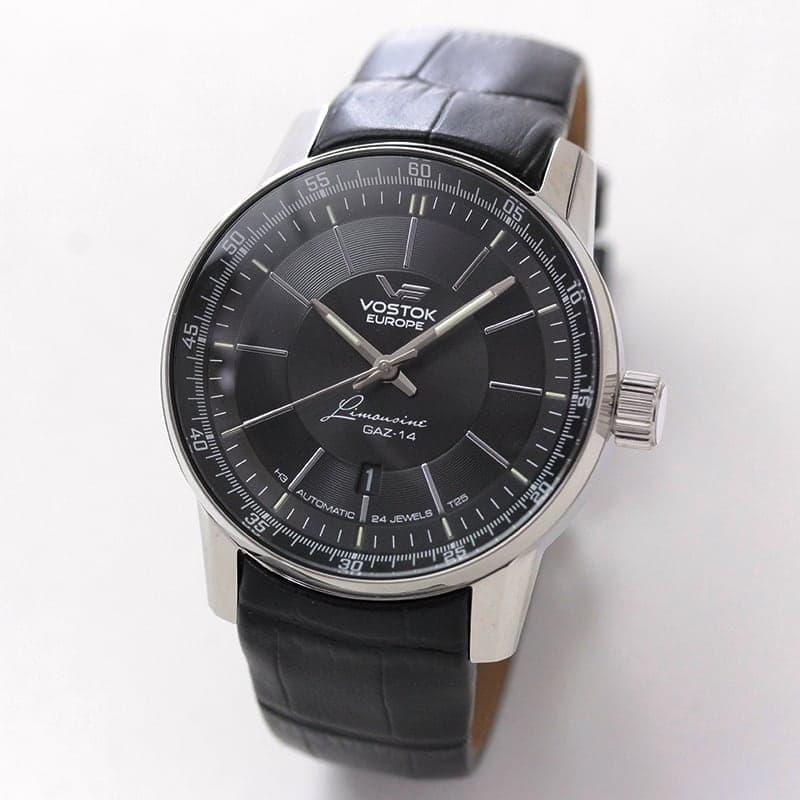VOSTOK EUROPE(ボストーク ヨーロッパ) Gaz-14 Limouzine(ガズ14 リムジン) 手巻付自動巻き 世界限定3000本 NH35A-5651137 腕時計