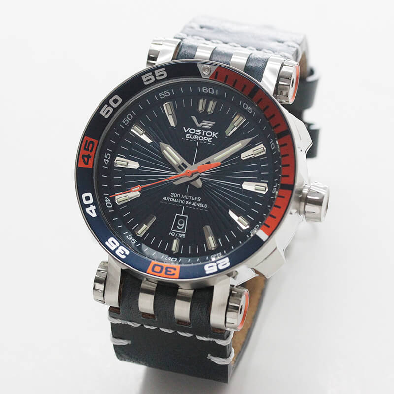 ボストークヨーロッパ VOSTOK EUROPE エネルギア 世界限定3000本腕時計 NH35A-575A279