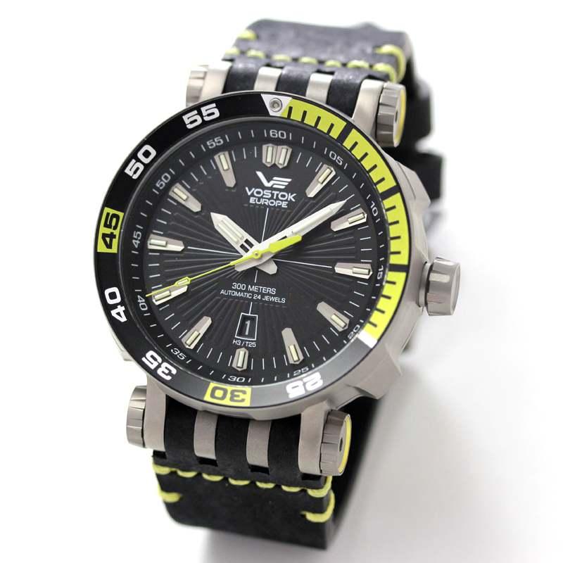 ボストークヨーロッパ VOSTOK EUROPE エネルギア 世界限定3000本腕時計 NH35A-575H283